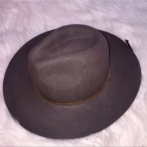 NWT Gray Wool Hat